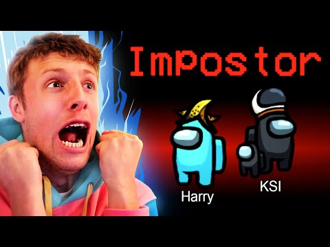 W2S PLAYS AMONG US FIRST EVER IMPOSTER WIN w KSI