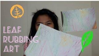 E31 DIY Leaf Rubbing Art | Uriel TV