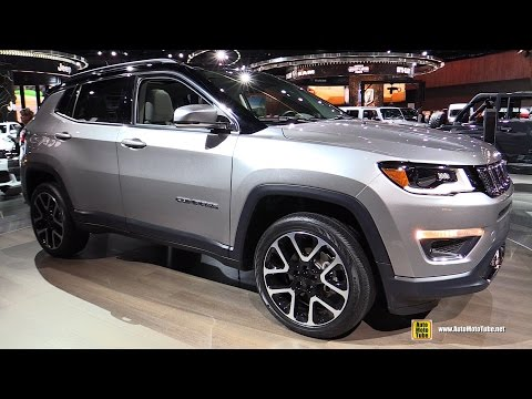 2018 Jeep Compass Limited Exterior and Interior Walkaround 2017 Detroit Auto Show