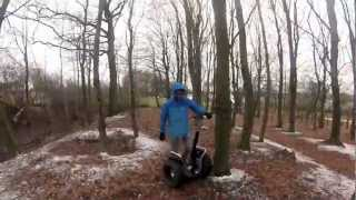 Blue Segway - Offroad ride
