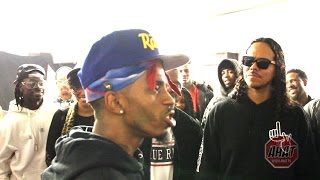 Rap Battle - Billy Boondocks vs Prom Luther King   AHAT