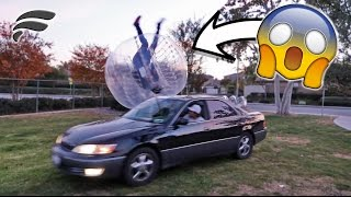 HIT BROTHER WITH MY CAR!!