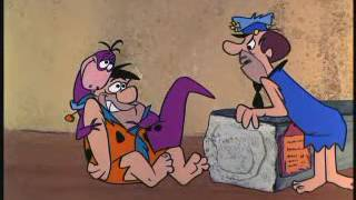 The Flintstones At The Airport