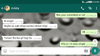 How To Chat With Indian Girl On Whatsapp And Impress Her | Best Love Tips Of 2017
