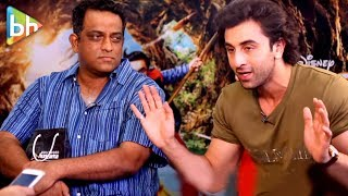 """Anurag Basu Loves To Grab Men's Private Parts"": Ranbir Kapoor   Rapid Fire   Jagga Jasoos"