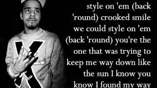 J. Cole (Feat. TLC) - Crooked Smile (Lyrics)