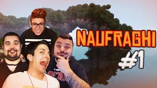 Minecraft | SI INIZIA ALLA GRANDE! Naufraghi #1 w/Ciccio, Stepny & Joker