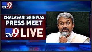 Chalasani Srinivas Rao Press Meet LIVE || Vijayawada - TV9