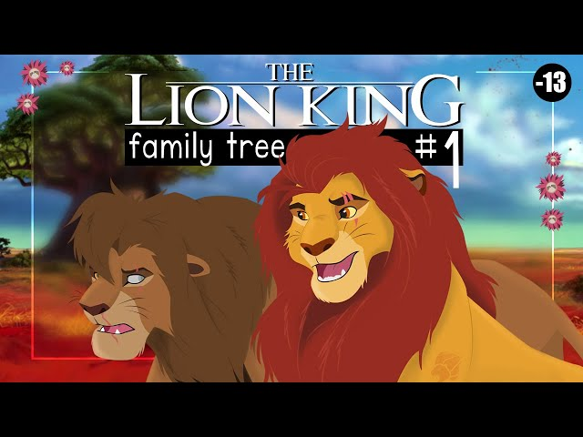 THE LION KING FAMILY TREE | Remake