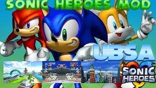Blitz Sonic - Ultra Blitz Sonic Advanced - Sonic Heroes Mod