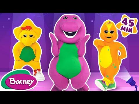 Barney Full Episode Compilation Bop Till You Drop & Big Garden 1 HOUR