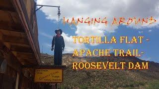 Tortilla Flat - Apache Trail - Roosevelt Dam - Suzuki V Strom DL1000