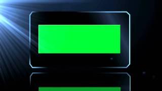 Green Screen Chroma Key Ready Stock Video Clips