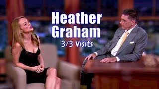 Heather Graham - Talks Lesbian P##n & Being Nude In Movies - 3/3 Appearances In Chron. Order [HD]