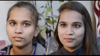 घर पर बेसिक मेकअप करना सीखें Basic Simple Makeup in HINDI : How to do makeup at home