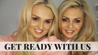 GET READY WITH US // Mum & Daughter makeup tutorial // 56 & 18 year old
