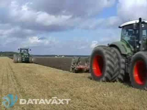 Onland plowing with Trimble Autopilot RTK