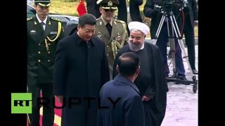 Iran: Chinese President arrives in Tehran for first visit in 14 years