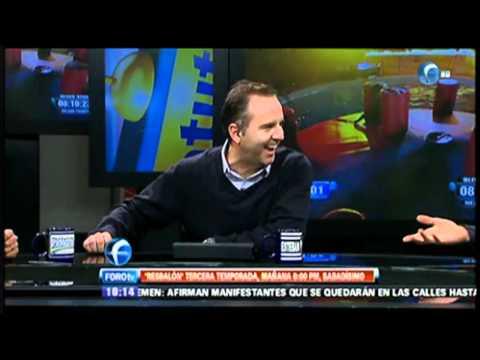 Las bolas de Eduardo Videgaray y el Estaca en el Resbalón. Matutino Express FOROtv