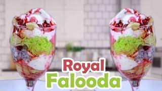 Royal Falooda || Home Made Faluda || Falooda - Refreshing Cold Beverage - Sweet Dessert