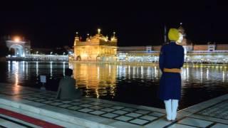 Palki Sahib sewa at The Golden Temple. Amritsar 2016.