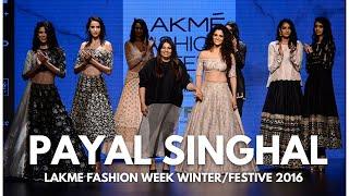 Inside Payal Singhal's Winter/Festive'16 collection | Lakme Fashion Week