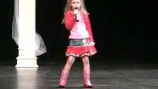Megan Dale sings