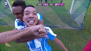 Gols Avaí 2 x 1 Flamengo - Brasileirão 2015