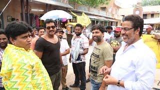 Sunil New Movie Shooting Spot l Mannar Chopra