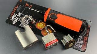 [775] Pumpkin Saw Converted into Electric Pick Gun!