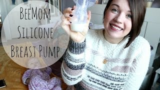 BeeMom Silicone Breast Pump: Review, How-to and Demo | Let Down Reflex