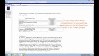 Intro to MIS Excel Tutorial - Part 2