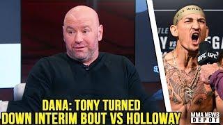 OFFICIAL: Holloway vs Poirier for the 155 LW interim title at UFC 236; GSP on Khabib; Cruz ríps TJ