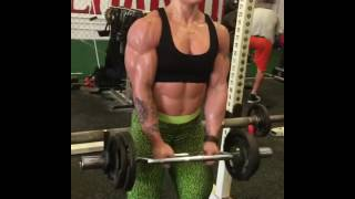 FBB Kristina Nicole - Hard Biceps Pump