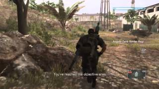MGS5: THE PHANTOM PAIN - EPISODE 20 (BURNING MAN BOSS FIGHT) SPEEDRUN