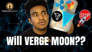 VERGE: WILL XVG MOON?