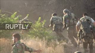Syria: SAA launches grand offensive on IS base in Jobar