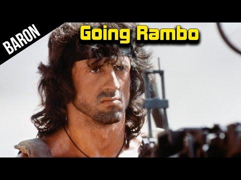 War Thunder - Baron Goes Rambo!  Surprise Tank Sex!