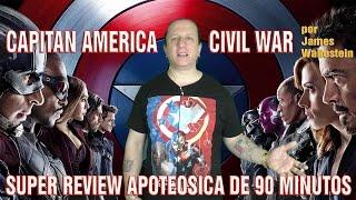 Capitan america: guerra civil - Captain america: civil war (2016) critica de James Wallestein