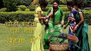 चोटिकटवा घुस गया लेहंगा में  Dil Mange Raja - Mittal - Bhojpuri Hot Songs 2017