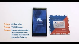 AR Car Mobile App Demo by VR-Masters