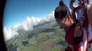 Deepika Padukone Skydiving