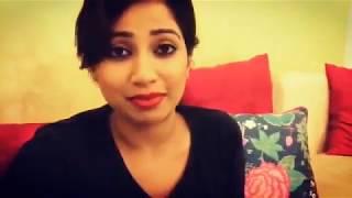 Singer Shreya Ghoshal singing her favourite Tamil Song
