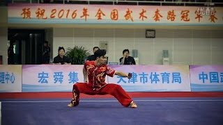 2016 China National Wushu Championships - Men's Longfist - 3rd Place - Zhenhai Tao (Liaoning)