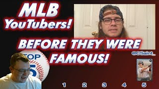 MLB The Show YouTubers Before They Were Famous! [Part 1] Top 5 Hitters