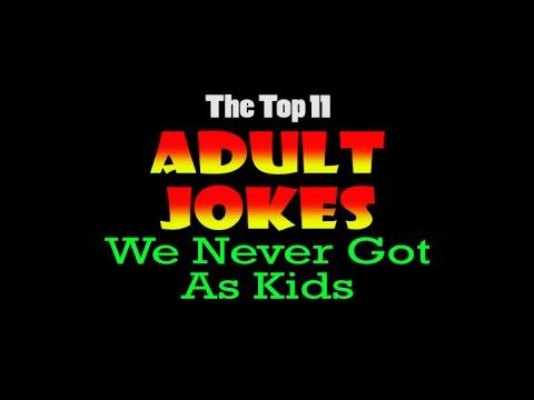 Xxx Mp4 Top 11 Adult Jokes We Never Got As Kids 3gp Sex