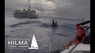Nightmare! We lost the rudder in open ocean, EXTRA Episode, Hilma Sailing
