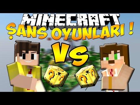 Minecraft | ŞANS OYUNLARI - Lucky Block Modu - MUTANT ZOMBİLER !