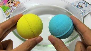 Doraemon vs Crayon Shinchan Bath Bomb Battle