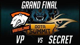 Grand Final VP vs Secret Summit 7 Highlights Dota 2 by Time 2 Dota #dota2